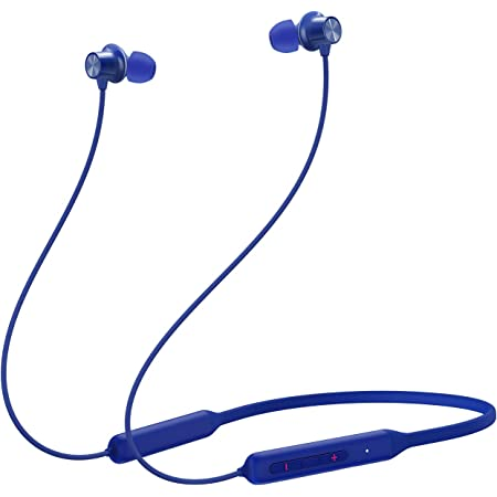 OnePlus Bullets In Ear Wireless Z Bass Edition with Mic (Bass Blue)