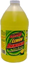 (Pack of 6) L.A.'s Totally Awesome All Purpose Cleaner Lemon Ammonia Sudsy Detergent, 64oz