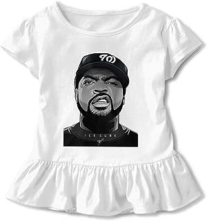 TIANBA Design Beautiful Tees NWA ICE Cube Falbala Skirt T-Shirts for Girls