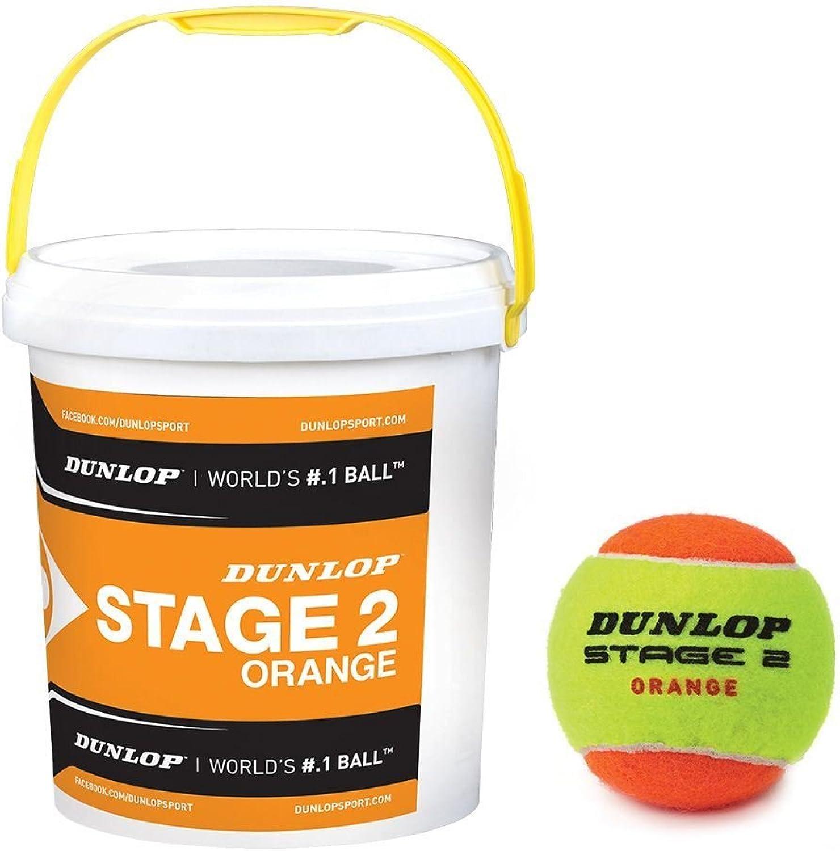 Dunlop Stage 2 Tennisball Eimer Niedigere Kompression 60