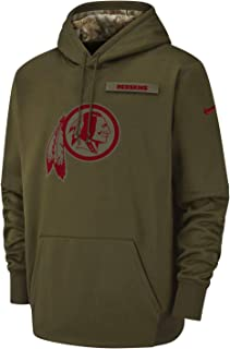 Washington Redskins 2018 NFL Salute to Service Men's STS Therma Hoody (Large)