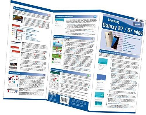Samsung Galaxy S7 und S7 edge - der leichte Einstieg!: Alles auf einen Blick. Besonders für Senioren geeignet! (Wo&Wie / Die schnelle Hilfe)
