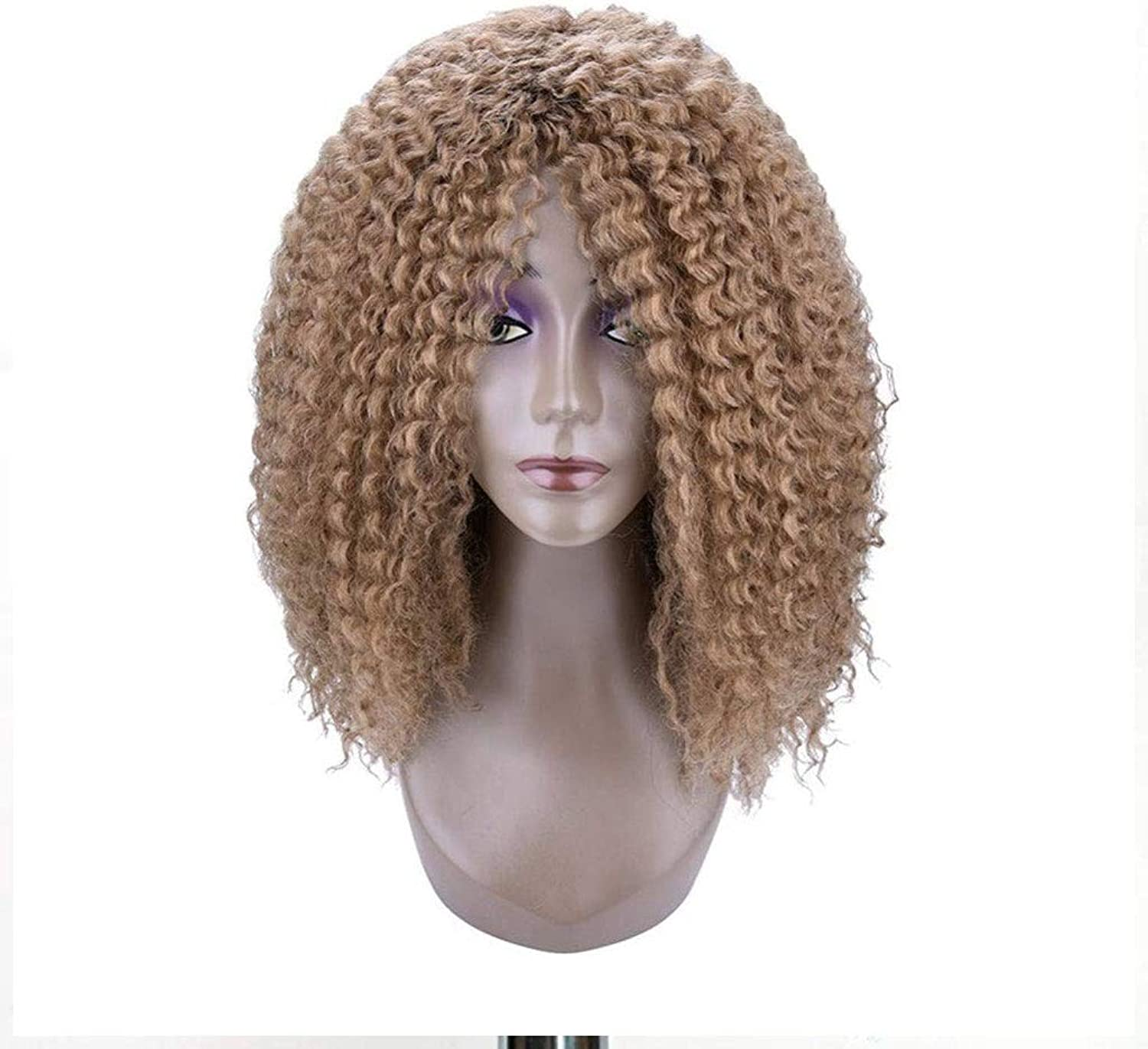 HHYK European and American fashion temperament atmosphere woman small volume wig
