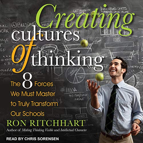 Creating Cultures of Thinking audiobook cover art