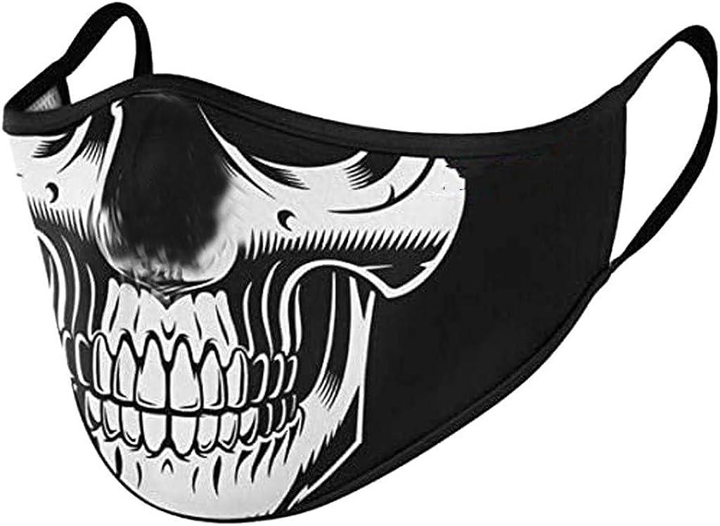 Yanhoo 1 St/ück Mundschutz Waschbar Schlauchtuch Bunt Wiederverwendbar Atmungsaktiv Lustig Animal Print Maske Mund und Nasenschutz Stoff Tuch Halstuch Bandana f/ür Herren Damen