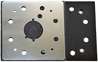 Superior Electric Pads & Abrasives SPD18 1/4 Sheet, 8 Hole Stick On Square Sanding Pad REPLACES Dewalt 151280-00, 151284-00SV