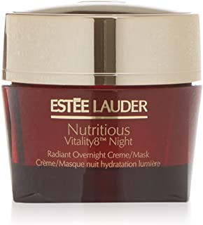 Estee Lauder Nutritious Vitality8 Night Radiant Overnight Creme/Mask, 1.7 Ounce