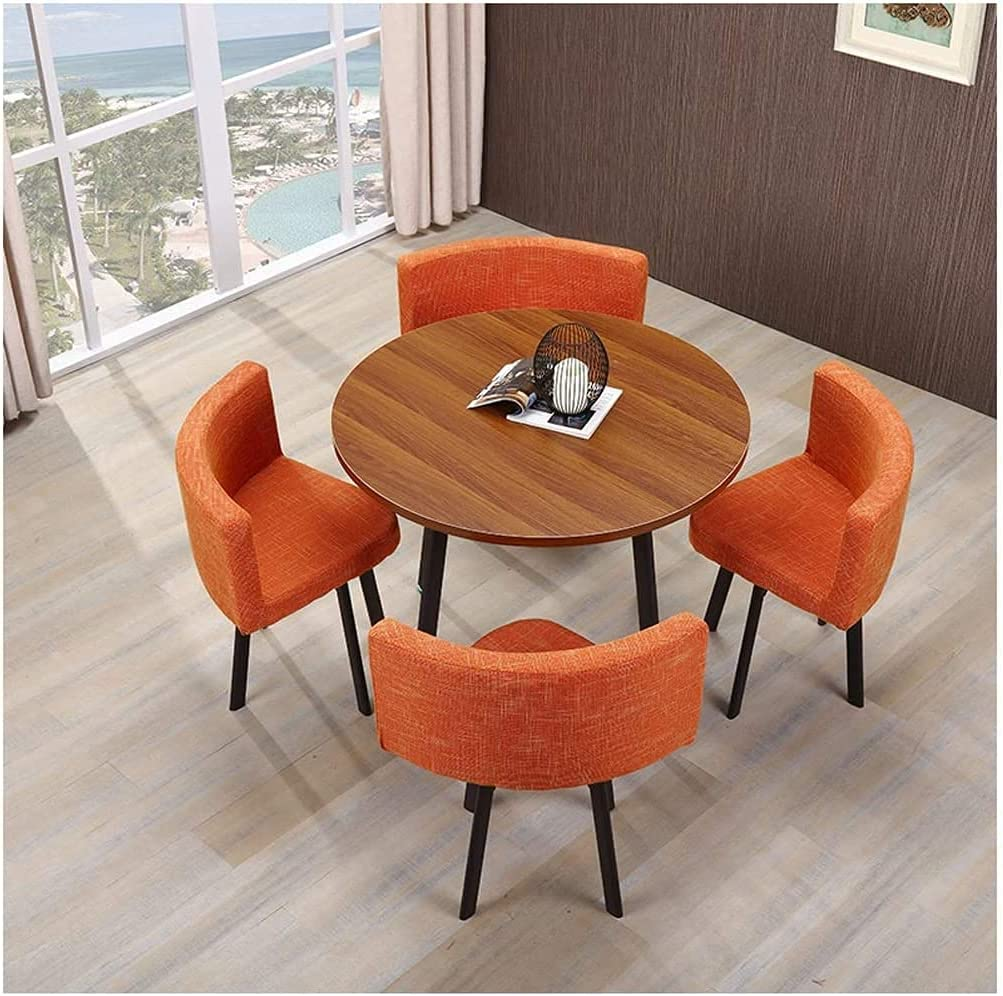 BUYT Some reservation online shopping Office Reception Room Club Table T Round and Chair 80cm Set
