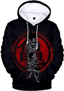Unisex 3D Printed Dragon Ball Pullover My Hero Academia Himiko Hoodie Naruto Sweatshirt