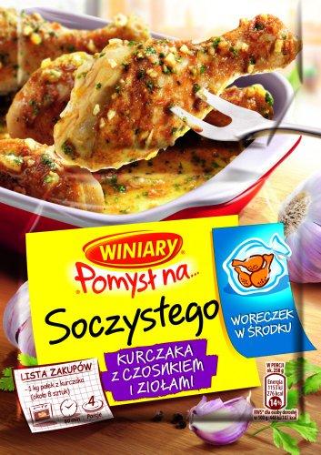 Idee für Saftiges Hühnchen mit Knoblauch und Kräutern 30g von Winiary I Polnische Gewürze & Soßen