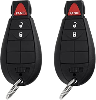 YITAMOTOR 2 Uncut Key Fob Replacement for M3N5WY783X IYZ-C01C Keyless Entry Remote 3 Button Compatible for Charger Challenger