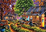 Buffalo Games - Geno Peoples - The General Store - 300 Large Piece Jigsaw Puzzle