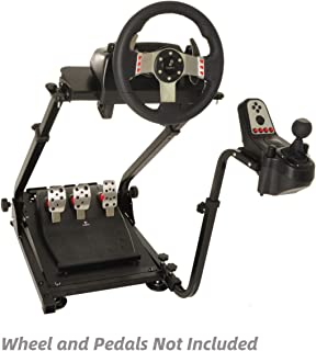 Marada Racing Wheel Stand for G25 G27 G29 and G920 Racing Steering Pro Stand Wheel and Pedals Not Included