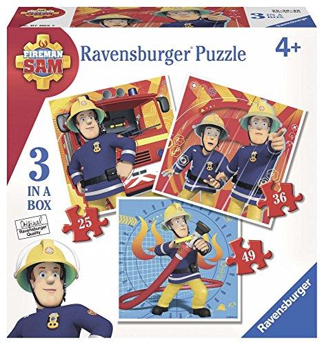Brandwehrmann Sam Puzzel 3 puzzel van Ravensburger