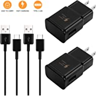 Adaptive Fast Wall Charger Adapter Compatible Samsung Galaxy S10 S9 S8 /Edge/Plus/Active,Note...