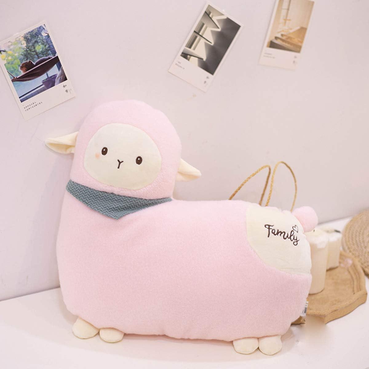 Valentine Super Soft Alpaca Plush Hugging Pillow Cute Llama Stuffed Animal Toy Kids Gifts for Birthday Christmas