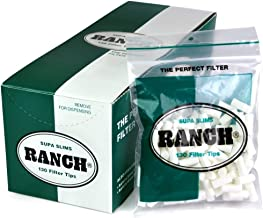 Ranch Filters Supa Slim Cigarette Filters, 120 grams