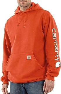Men's Big & Tall Midweight Sleeve Logo Hooded Sweatshirt