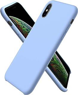 Amazon.it: cover iphone x silicone - Blu
