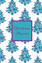 Christmas Planner: Holiday Gift List Log -  Budget Planning Notebook - Menu Planning for Holiday Parties - Online Shopping Tracker