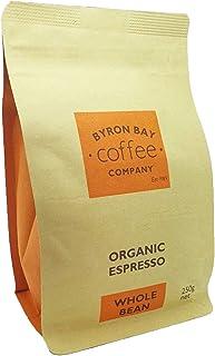 Byron Bay Coffee Company Certified Organic Espresso Whole Bean, 250g