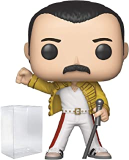 Funko Rocks: Queen - Freddie Mercury Wembley 1986 Pop! Vinyl Figure (Includes Compatible Pop Box Protector Case)