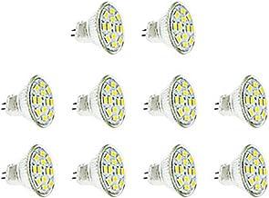 LED Lamp 10pcs,LED Light Bulbs MR11 GU4 LED 3W 12XSMD5730 2800-3200K / 6000-6500K Warm White/Cool White AC 12-24V Green Pr...