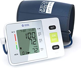 Clinical Automatic Upper Arm Blood Pressure Monitor – Accurate, FDA Approved..
