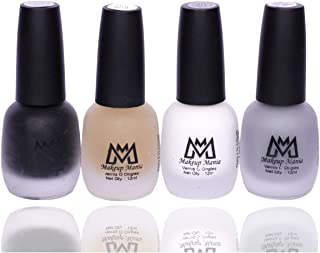 Makeup Mania Premium Nail Polish Set, Velvet Matte Nail Paint Combo of 4 Pcs, Perfect Gift for Girls and Women (MM-70), Multicolor, 300 g