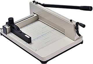 PNPGlobal Paper Cutter Guillotine Trimmer Cutting Machine Heavy Duty 400 Sheets 12 Inch A4