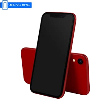 3rd Generation [Full Metal] Fake Dummy Display Compatible with Apple iPhone [Non-Working] 1:1 Scale Phone 10R XR (Red Blackscreen)