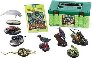 カロラータ やんばるの生物ボックス (立体図鑑) 鳥類 昆虫 爬虫類 リアル フィギュアボックス [解説書付き] 食品衛生法クリア 8種