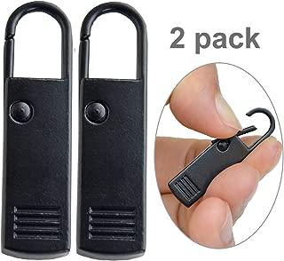 Zipper Pull Tab Replacement Luggage Zipper Pull Extension Backpack Zipper Extender Metal Zipper Tag Handle Mender Fixer Repair for Suitcase, Bag