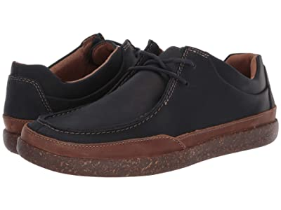 Clarks Un Lisbon Walk (Navy Oily Leather) Men
