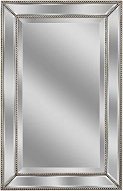 Head West Metro Beaded Mirror, 24 X 36