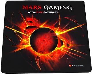 Mars Gaming MMP0 - Alfombrilla de ratón gaming (alta precisión con cualquier ratón, base de caucho natural, alta comodidad...