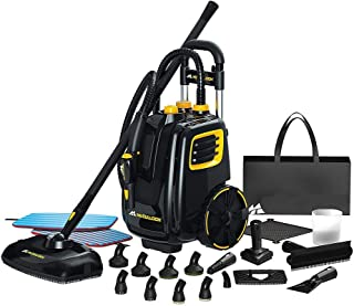 AlekShop Commercial Steam Cleaner System Multi-Floor Deluxe Deep Clean Remove Stains Kitchen Floor Hotel Restaurant Public Toilet and Others – Alek…Shop