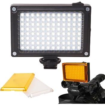 Ulanzi LED 96 Continuo en la luz del Video del Panel LED de la ...