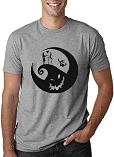 Pumpkin Face Shirt for Men Halloween Funny Graphic Print T-Shirt Fall Casual Short Sleeve Tee Top