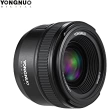 YONGNUO YN35mm F2N f2.0 Wide-Angle AF/MF Fixed Focus Lens F Mount for Nikon D7200 D7100 D7000 D5300 D5100 D3300 D3200 D3100 D800 D600 D300S D300 D90 D5500 D3400 D500 DSLR Cameras 35mm