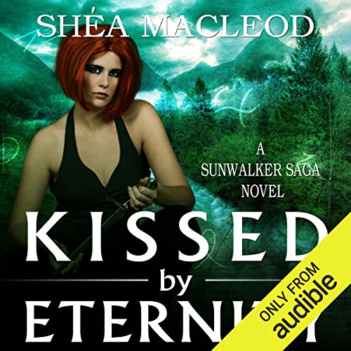 Kissed by Eternity audiobook cover art