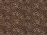Timeless Treasures Tiny Leopard Popeline Quilting Stoff