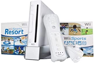 Wii Bundle with Wii Sports & Wii Sports Resort - White [video game]