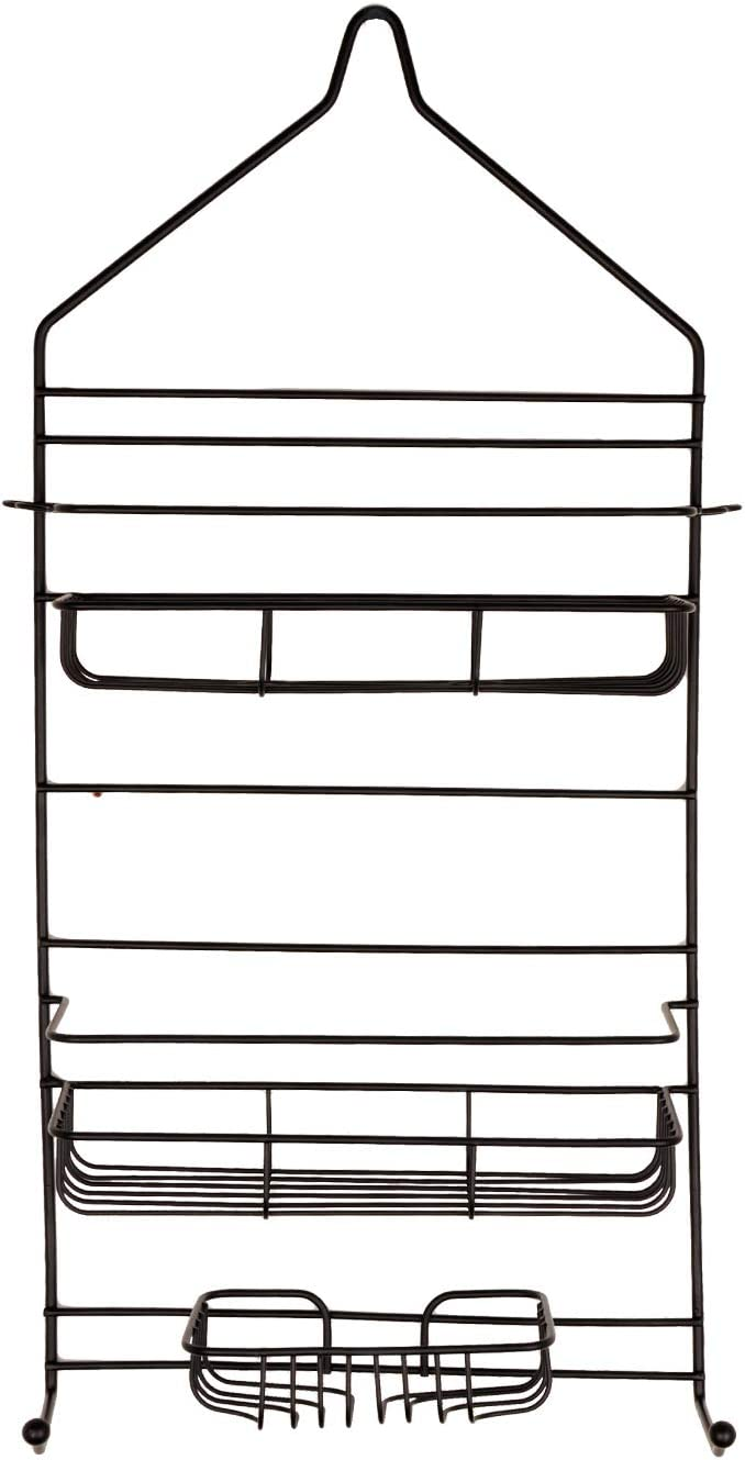 R FLORY 3 Tier Shower Caddy Shelf Nippon regular Ranking TOP8 agency Showerhead Rack Bathing Hooks