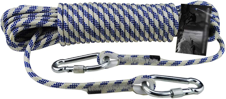 YD ロープ 屋外用クライミングロープ8 mmナイロンロープ外壁ロープ安全ロープ、16サイズ /& (Size : 200M)