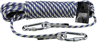 MEI XU Climbing Rope Outdoor Climbing Rope 8mm Nylon Rope Exterior Wall Rope Safety Rope, 16 Sizes @ (Size : 20M)