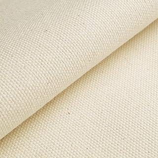 (125,44 kr/m) Eko-Tex panama/canvas – för tält, tipi/teepees – 100 % bomull, obehandlad – alternativ för tältämne (per 0,5 m)