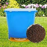 Spanditore per concime, 20 l, elettrico per sementi, concime per affumicare, giardino, str...