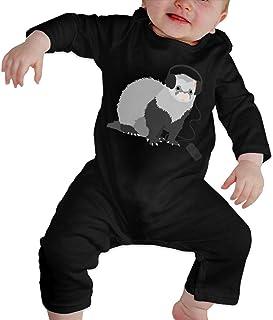 Ives Jean Baby ärmellose Bodysuits Liebevolle Frettchen Baby Boy Mädchen Langarm Strampler Jumpsuit Bodysuits Onsies
