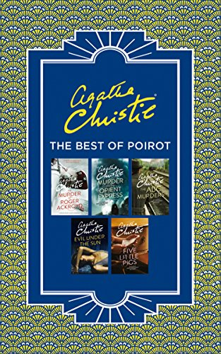 Best of Poirot: The Murder of Roger Ackroyd, Murder on the Orient Express, ABC Murders, Evil Under the Sun and Five Little Pigs